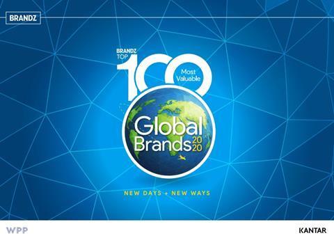 BranZ Global Top 100 Brands